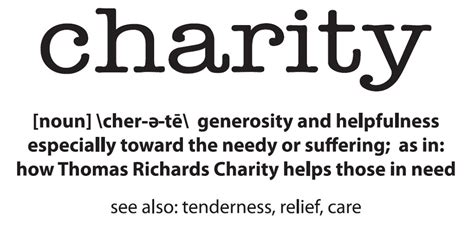 donate thomas richards charity rochester michigan