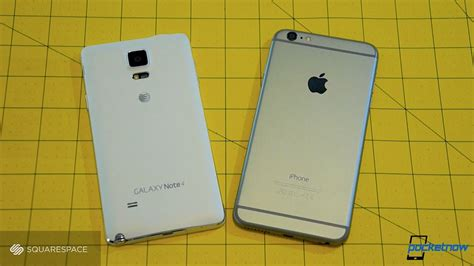 iphone 6 notes galaxy note 4 vs iphone 6 plus