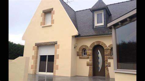 ravalement de facade en peinture decoration hinault