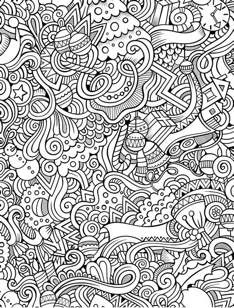 printable holiday adult coloring pages coloring
