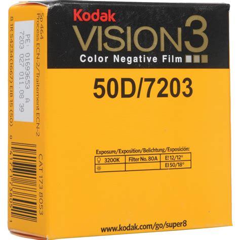 Kodak Vision3 50d Color Negative Film #7203 1738053 B&h Photo