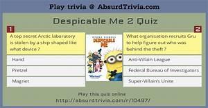 Despicable Me 2 Quiz