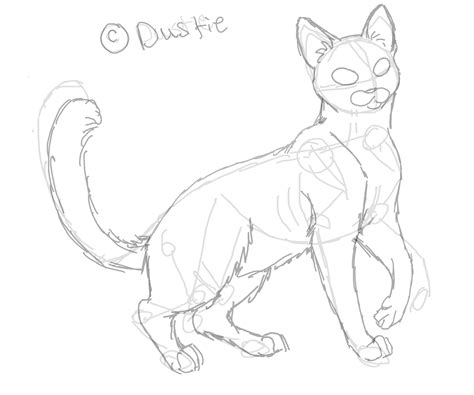 images  easy warrior cat drawings litle pups