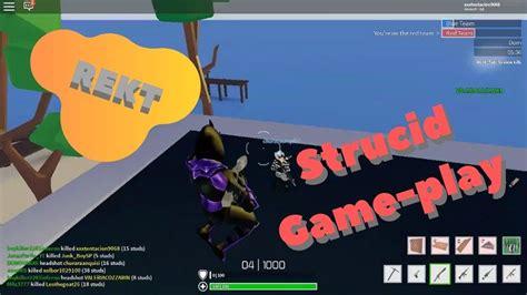 strucid game play rekt youtube