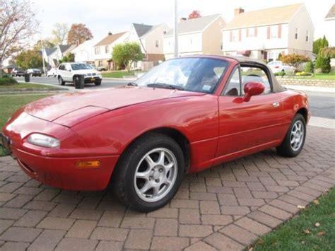 auto body repair training 1996 mazda miata mx 5 windshield wipe control sell used 1996 mazda miata base convertible 2 door 1 8l in whitestone new york united states