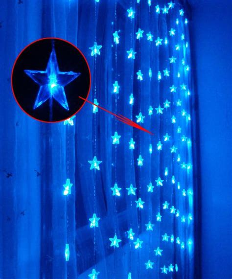 pointed star  led  curtain lightschristmas