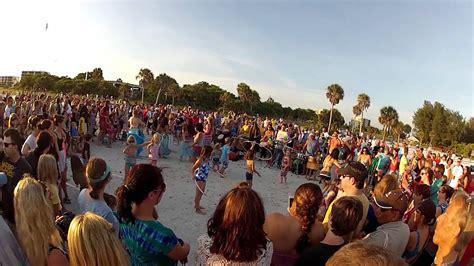 siesta key beach drum circle  youtube