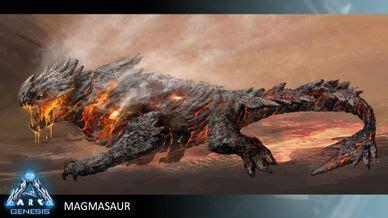 magmasaur official ark survival evolved wiki