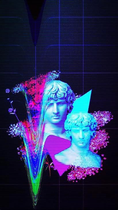 Vaporwave Aesthetic Wallpapers Phone Backgrounds Iphone Dark