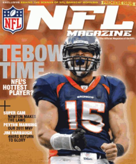 NFL News: Tim Tebow Covers NFL Magazine - Opposing Views