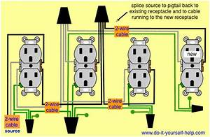 How To Run An Outlet From Another Outlet