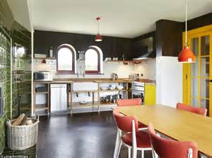 kitchen island with 4 chairs inside grayson perry 39 s gingerbread house daily mail