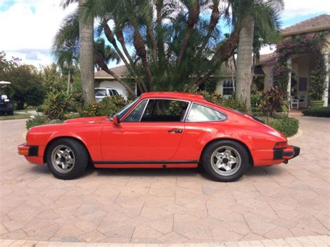 how to fix cars 1987 porsche 911 parking system sell used 1986 porsche 911 carrera trackdaily in fort lauderdale florida united states for us