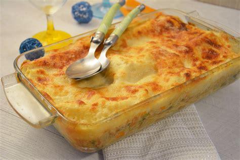 cuisiner le surimi lasagne au surimi et petits légumes au fil du thym