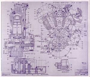Engine Drawing  1942