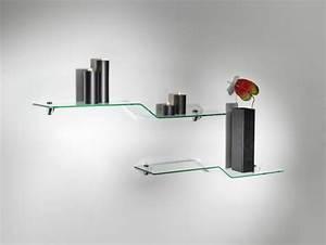 Mensole in vetro curvato soluzioni di design per la tua