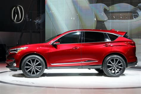 acura rdx prototype at 2018 detroit motor show car magazine