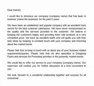 How To Write A Proposal To Sell A Product Business Introduction Letters 9 Download Free Documents
