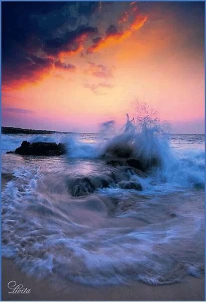 Lik Hawaii Peter Island Sundance Sunset Waves