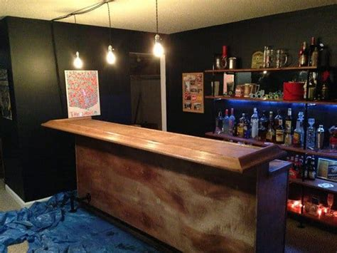 Simple Bar by 15 Diy Wooden Furniture Ideas To Make Your Home Look Awesome