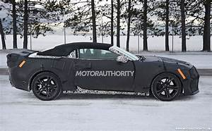 2017 Chevrolet Camaro ZL1 Convertible Spy Shots