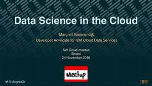 Data Science in the Cloud