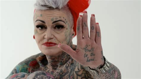 Old People With Different Tattoos Pictures New