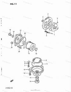 Suzuki Atv 1985 Oem Parts Diagram For Oil Pump