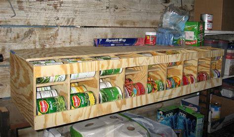 can storage rack 81 can fifo bulk can dispenser organizer