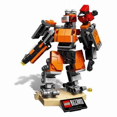 Lego Bastion Overwatch Build Omnic Figures Custom