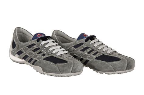 Geox Snake Red Bull Schuhe Grau Blau U11b9a-01422-c0244