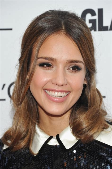 jessica alba lovely     hairstyle