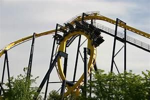 Batman The Ride Roller Coaster Photos, Six Flags Great ...