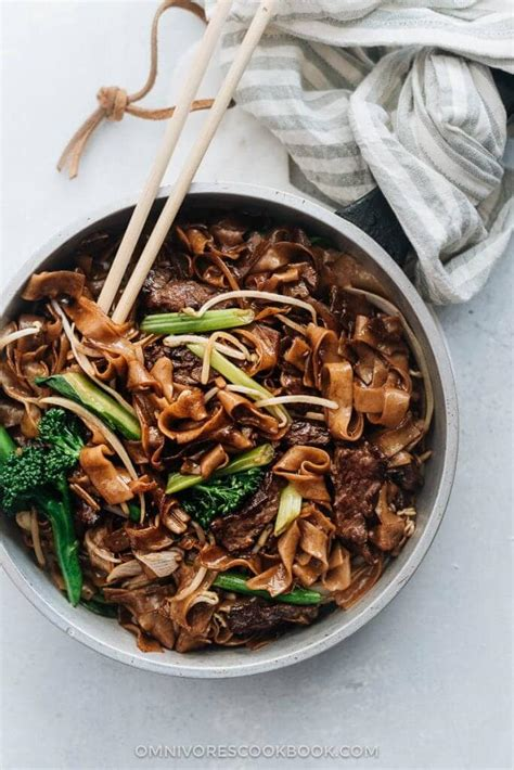 real deal beef chow fun omnivores cookbook