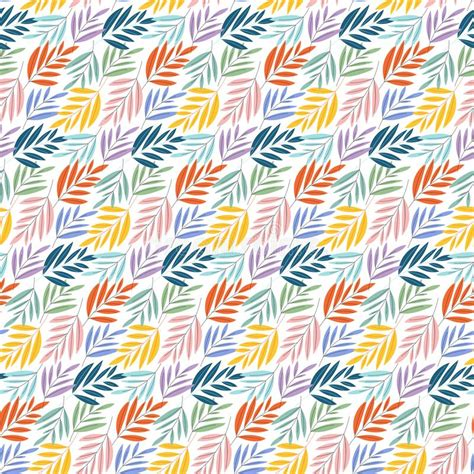 Elegant Floral Seamless Pattern With Gorgeous Hand Drawn