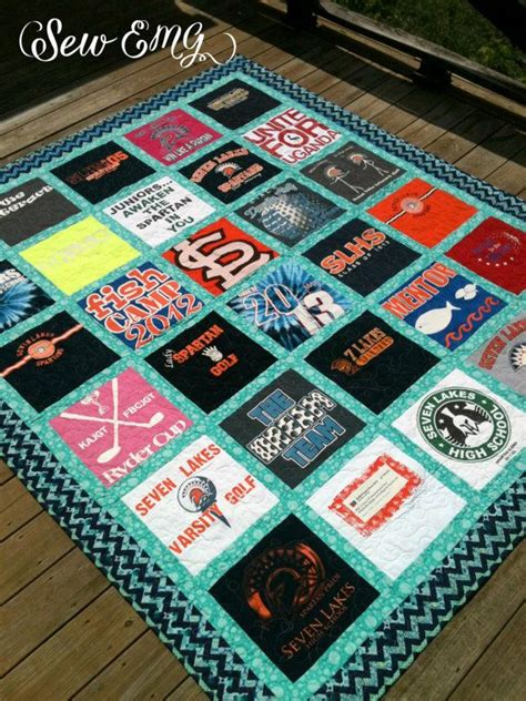 how to make a tshirt quilt for beginners custom made tshirt quilt deposit only great or by
