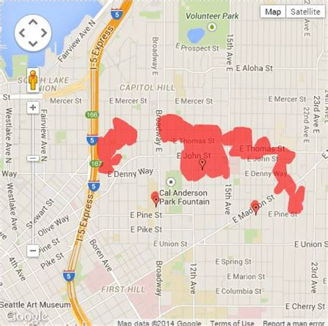 seattle city light power outage map power restored on capitol hill the today file seattle