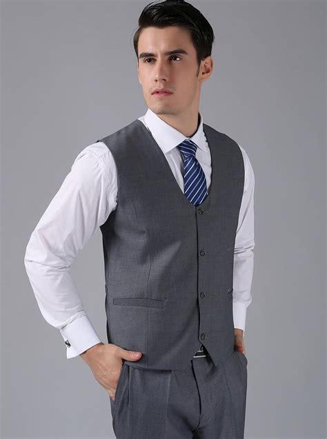 arrival groom vests gray groomsmensbest man vest