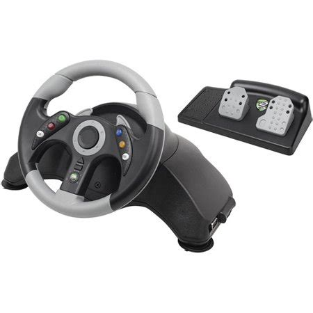 Volante Catz Xbox 360 Catz Mc2 Microcon Racing Wheel Wheel And Pedals Set