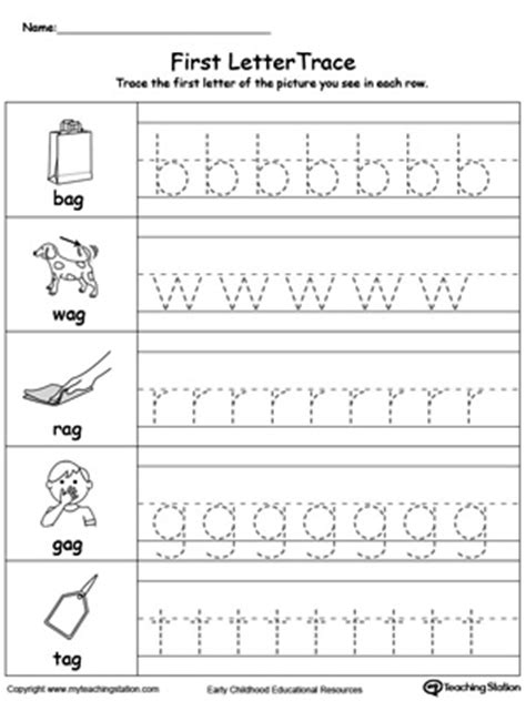 ag word family match letter and write the word ag word family workbook for preschool myteachingstation 28059