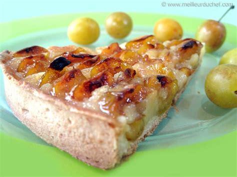 cuisine lorraine recette tarte aux mirabelles fiche recette avec photos