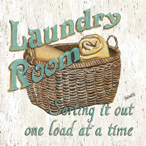 Laundry Room Sorting It Out By Debbie Dewitt