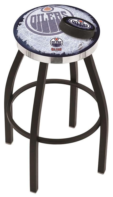Home Bar Furniture Edmonton by Edmonton Oilers Counter Height Bar Stool W Official Nhl