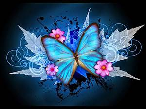 Wallpaper design pictures : Colorful butterfly designs background for desktop abstract