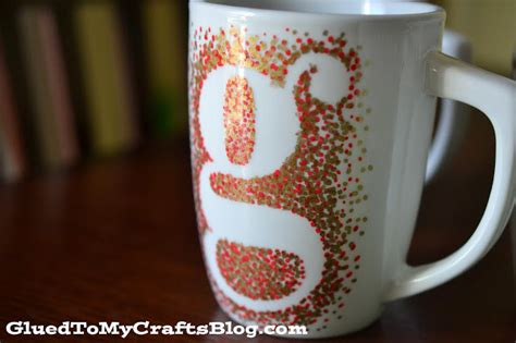DIY Painted Mugs   That Won't Wash Away {Craft}   Glued To My Crafts