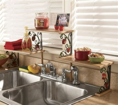 sink shelves kitchen apple the sink shelf from seventh avenue 174 di60694 2276