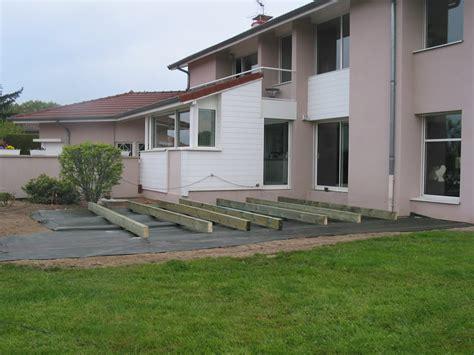 terrasse exterieure bois composite terrasse bois composite gris anthracite