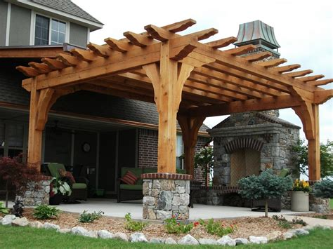 pictures of pergolas pictures for rock solid materials llc in bixby ok 74008