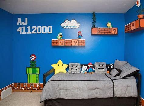 deco chambre mario thème minecraft ou mario pour la chambre du fiston