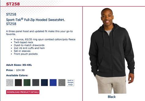 mens hoodie sport tek brand smaller sizes